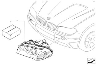 Install.kit, Xenon light