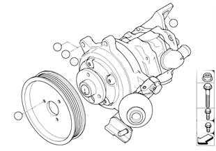 Power steering pump/Dynamic Drive