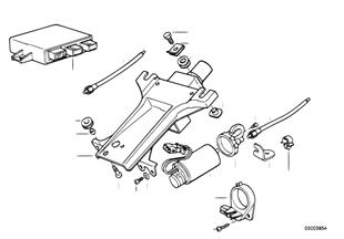 電動調整式ステアリング コラム/個別部品