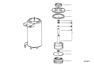 Oil carrier levelling device/singl.parts