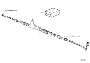 Drążki kierownicze/drążek kierowniczy