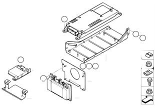 Детали SA 633 в багажном отделении