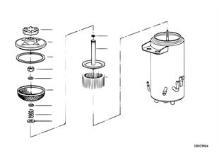 Olejový zásobník ASC+T/jednotlivé díly