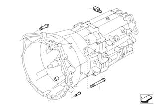 Versnellingsbak bevestiging/anbouwdelen