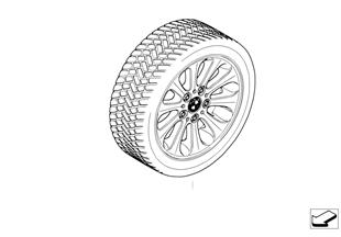 整套冬季車輪 徑向輪幅 139