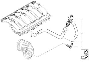 Onderdrukbesturing-motor