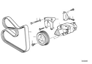 Direction hydraulique-Pompe ailet.tandem