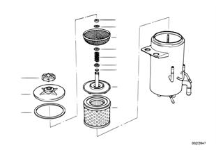 Ölbehälter Niveauregulierung/Einzelteile