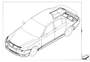 Doposażenie — pakiet aerodynamiczny M