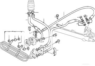 液壓助力轉嚮機構油管