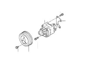 Насос гидроусилит.рул.управл./крепление