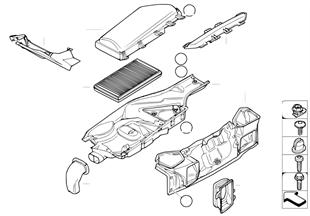 Microfiltro/pezzi di carter
