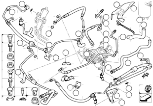 液壓助力轉向機構 油管/動態行駛穩定裝置