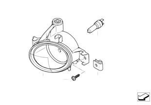 Reflektor przeciwmgłowy M Technic