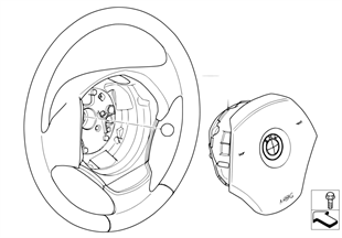 Stuurwiel airbag