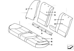 Individual Bezug Basissitz hinten