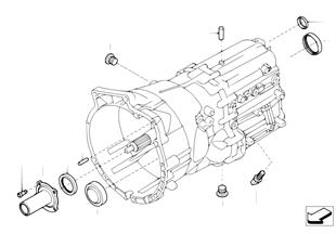 GS6-53BZ/DZ Gehäuse und Anbauteile