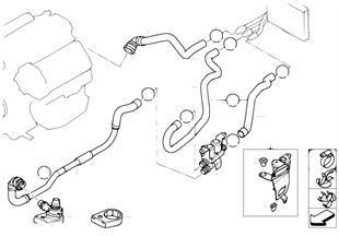 冷卻液軟管-泵-閥門 自動恆溫空調