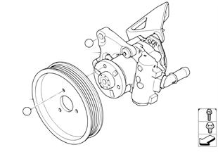 Pompe de servo-direction