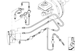 前部制動管路 (S541A)