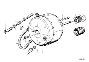 ブレーキ ブースター バキューム圧