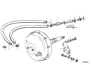 Bremskraftverstärker/Befestigung