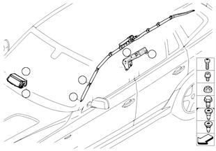 Airbag spolujezdec ahlavový airbag