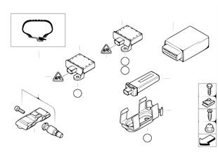 Bandspann.controlelamp(RDC)-stuurtoestel