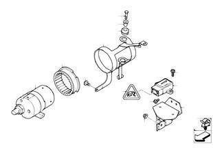 Compresor DSC/sensores/pzs de montaje