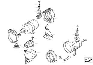 DSC Vorladepumpe/Sensoren/Anbauteile