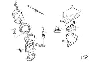 DSC compressor/senors/mounting parts
