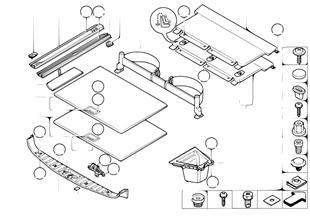 Revêtement de plancher e coffre AR