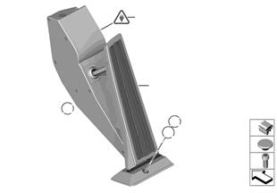 Gasbetätigung/Fahrpedalmodul