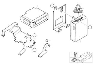 내비게이션 컴퓨터 / 비디오 모듈