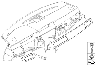 Listello decor titan II dunkel