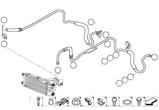 Getriebeölkühlerleitung