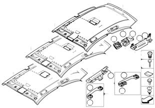 Потолок / поручень