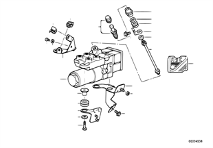Υδραυλική μονάδα ABS/ASC+T