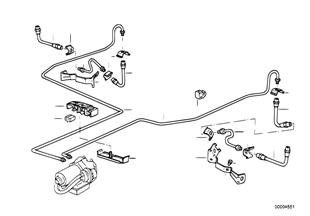 Трубопровод тормозн.привода Зд ABS/ASC+T