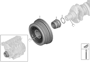 皮帶傳動-扭振減震器