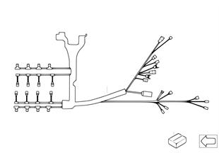 Kabelový svazek motor