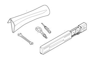 Komplet narzędzi/podnośnik samoch.