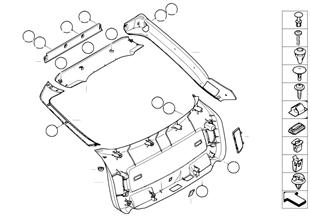 Trunk lid trim panel