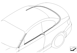 Conversion, exterior strips