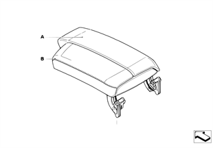 Individual armrest, center console