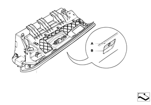 Cassetto portaoggetti pelle Individual