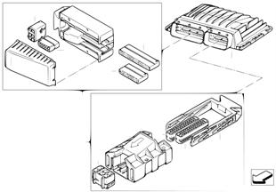 Базовый ЭБУ DME / MSV70