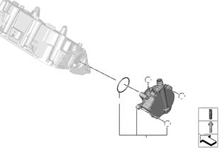 Bomba de vácuo com guia de tubos