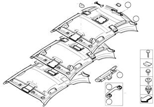 Tavan kaplaması / Tutamak