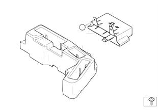 支架 車身控制單元和模塊